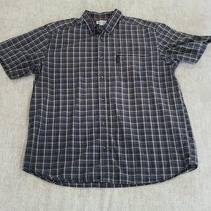Mens Columbia Button Down Shirt